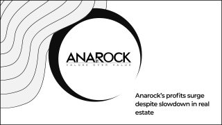Anarock Continues To Reap Profits Despite Market Conditions