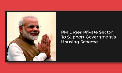 PM Modi Invites The Private Sector To Help Attain 'Housing for All'