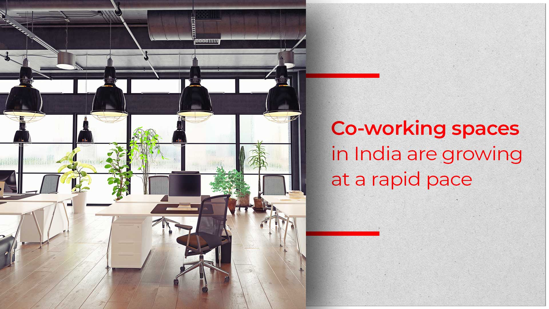 Co-working Spaces Give Maximum Facilities As Well As Save Cost