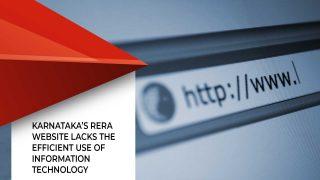 Karnataka's RERA Website Needs To Be Improved