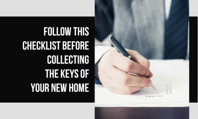 10 things to check before taking possession of your new home