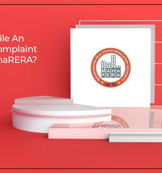 Guidelines To Register An Online Complaint With MahaRERA