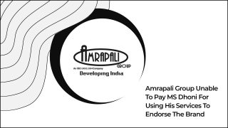MS Dhoni Approaches Court As Amrapali Group Defaults On Payment