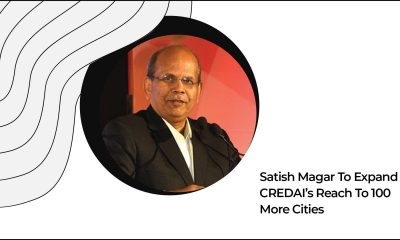 Satish Magar Took Charge As The President Of CREDAI
