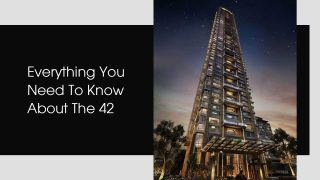The 42 Is Now India's Tallest Residential Building