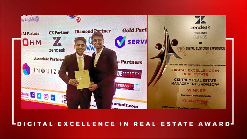 Digital Excellence in Real Estate Award
