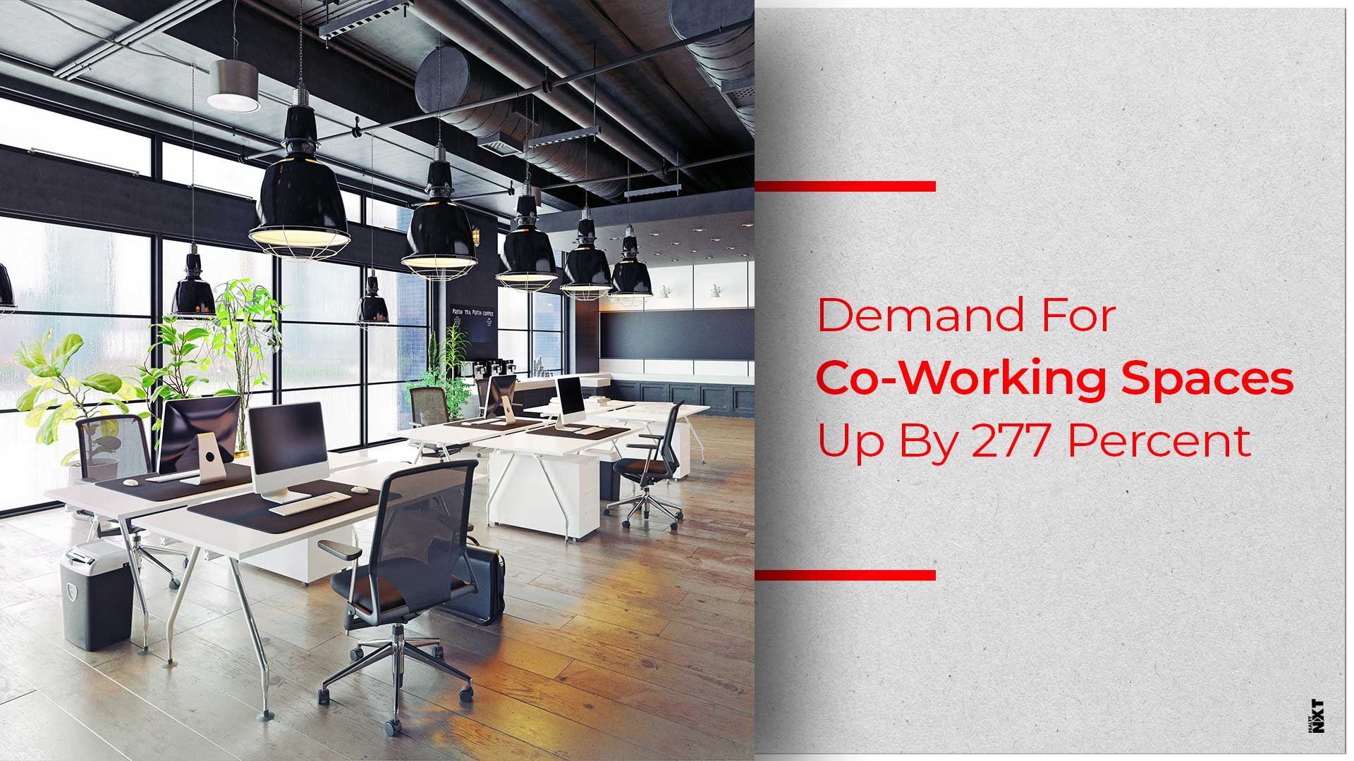 India Sees Huge Rise In Number Of Co-Working Spaces Leased