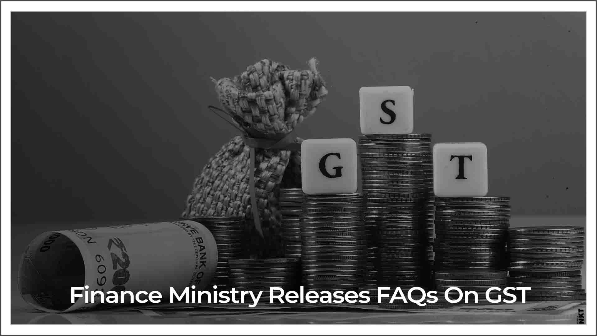 Finance Ministry issues FAQs on GST tax slabs for real estate