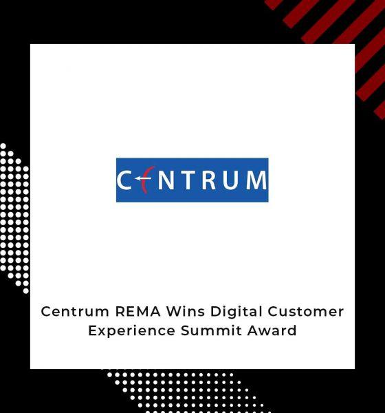 Centrum REMA Digital Platform Wins Award
