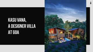 Kasu Assets Announces Kasu Vana, Limited-Edition Designer Villas