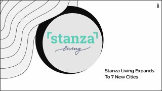 Stanza Living Spreads Its Wings To Seven New Cities