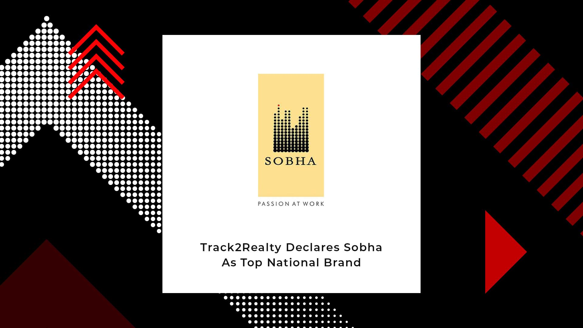 SOBHA Voted Top National Realty Brand For The 5th Time