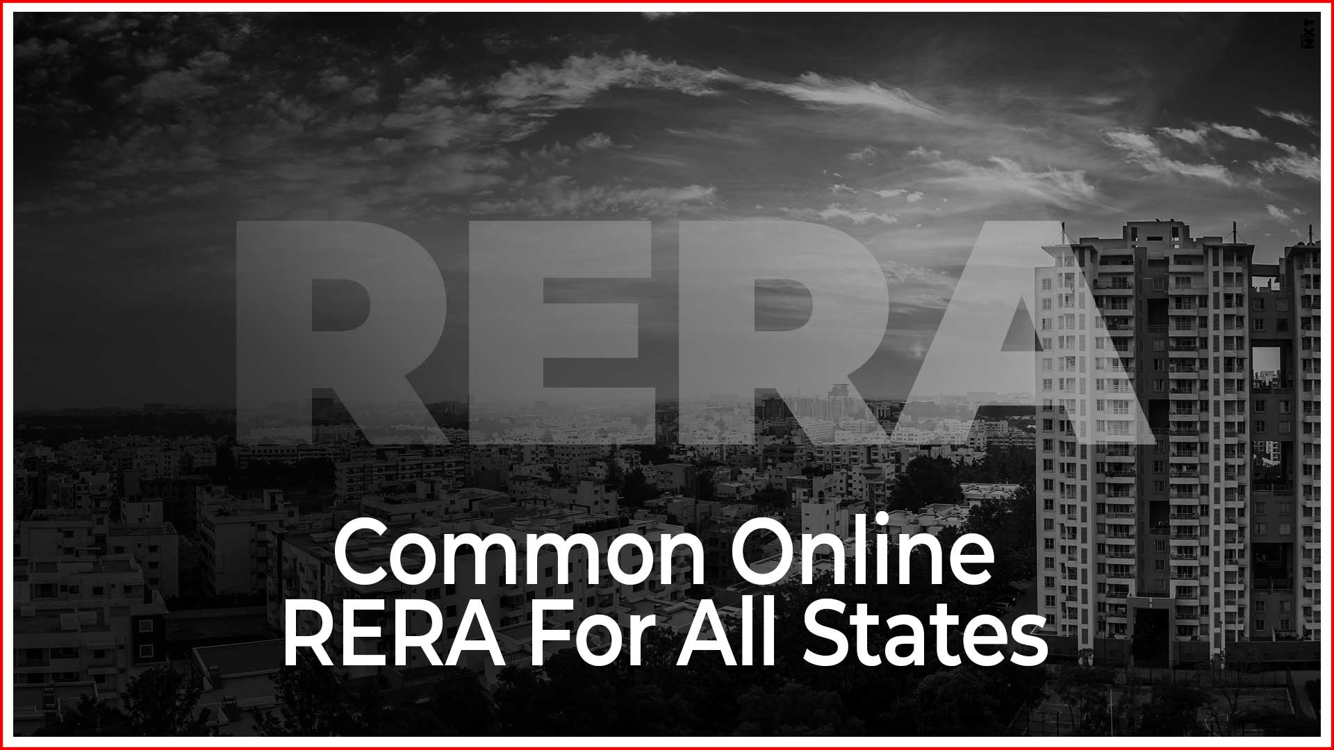 Common Online RERA For All States