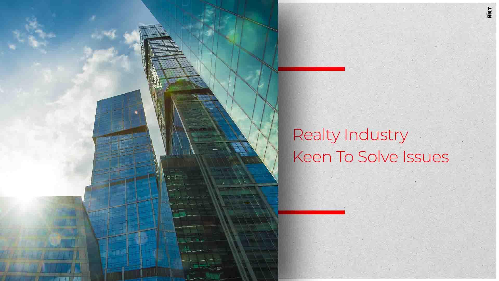 Real Estate Bodies Meet CM Devendra Fadnavis