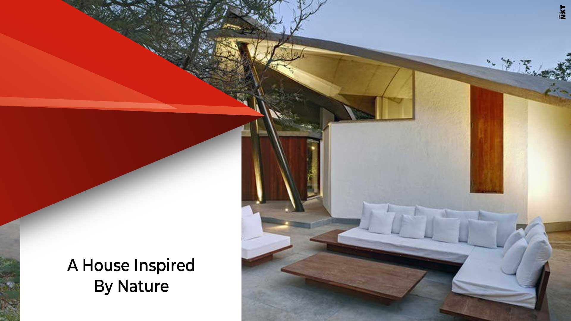 Spectacular Architecture Of The Leaf House
