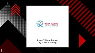 Maha Housing To Execute Smart Village Project