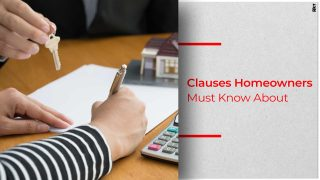 Important Clauses on Home Loan Agreement