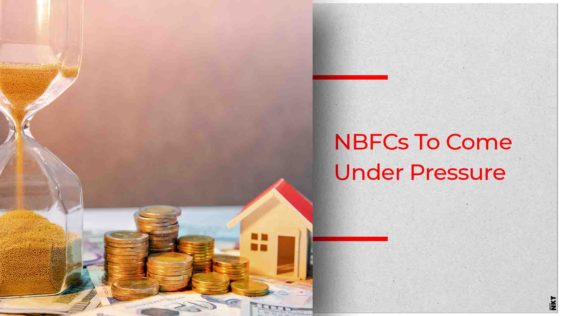 India Ratings Predict Slow Growth for NBFCs