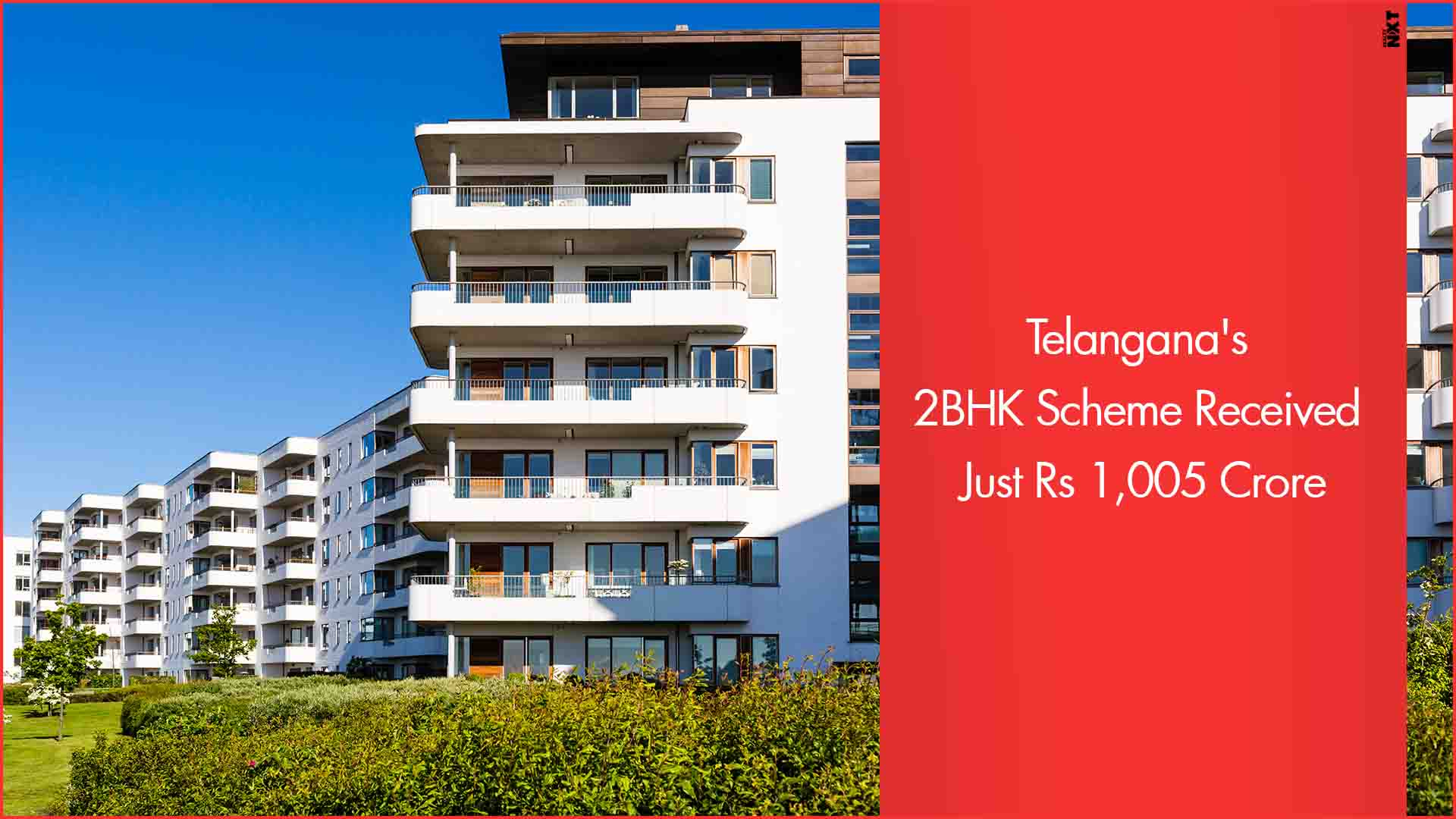 Telangana's 2 BHK Scheme Battling with Fund Crisis