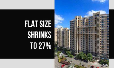 Average flat sizes shrink 27 percent in 5 yrs: Anarock