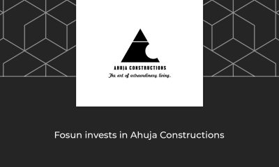 Fosun Invests 800 cr with Ahuja Constructions in Malad and Chembur