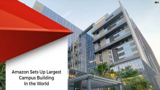 Amazon-owned Largest Building In Hyderabad