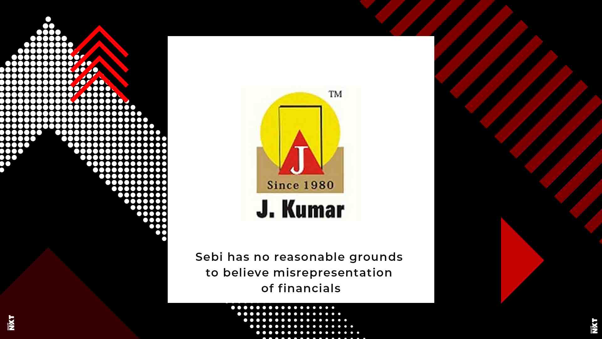 J.Kumar Infraprojects didn't misrepresent financials with regards to PACL: Sebi