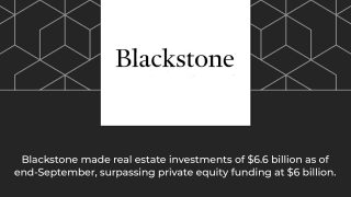 Blackstone aims to surpass the $13 billion by December 2019, which will also mark its 13th year of operations in India