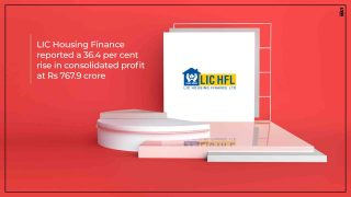 LIC Housing Finance's profit rises 36% at Rs 768 crore in Q2 FY20