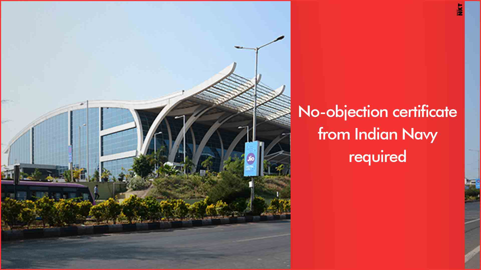 Construction projects near Goa Airport have to obtain a height clearance no-objection certificate from the Indian Navy