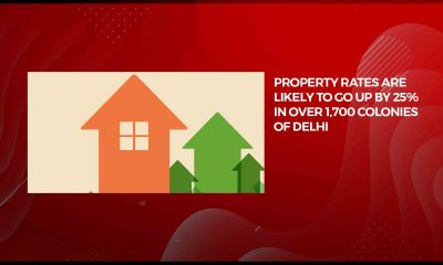 Property rates may increase by 25% in over 1,700 colonies of Delhi