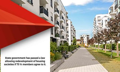 Ashirwad Flats signed contract with a builder to redevelop the society but litigation by a member has stalled the redevelopment