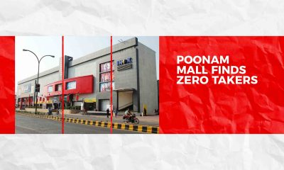 Poonam mall finds zero takers