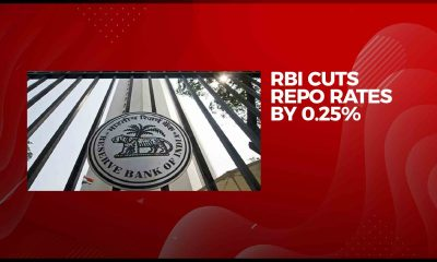 RBI slashes repo rate by 25 bps to 5.15%