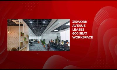 315Work Avenue leases 600 seat workspace at Embassy Manyata Business Park
