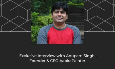 Exclusive Interview with Anupam Singh, Founder & CEO AapkaPainter