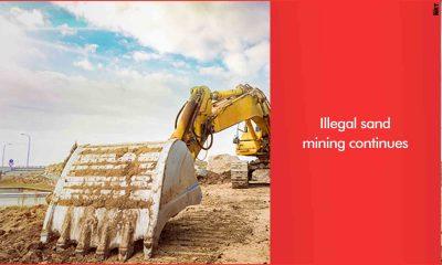 illegal sand