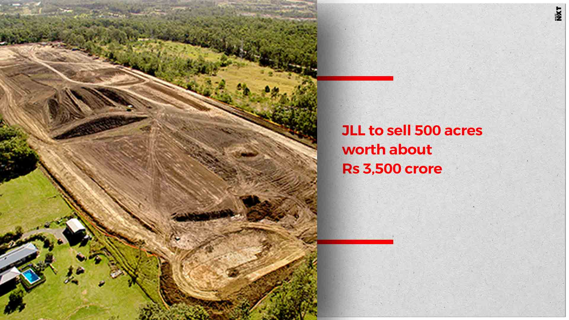 JLL to sell land