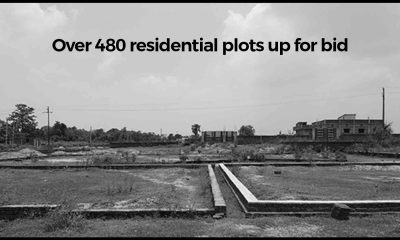 Over 480 residential plots up for bids from November 15