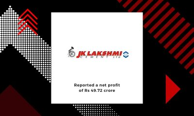 JK Lakshmi Cement reports net profit of Rs 49.72 crore in Q2 FY20