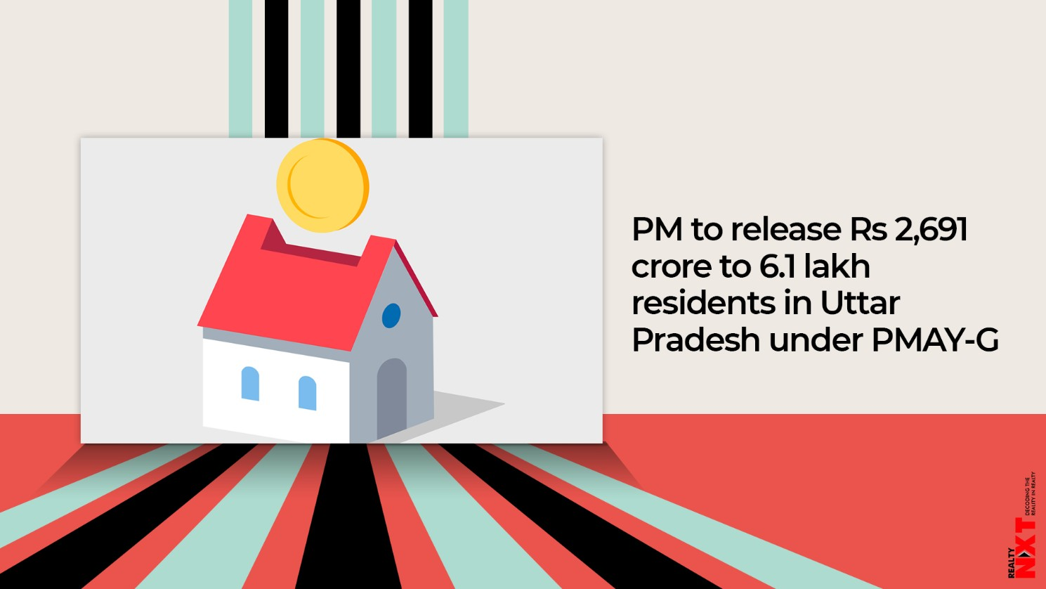 PM to release Rs 2,691 crore to 6.1 lakh residents in Uttar