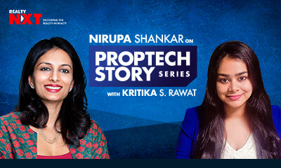 Nirupa Shankar, Director Of Brigade REAP With Kritika Rawat, Founder Of RealtyNXT